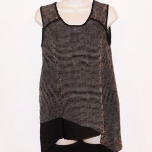 Habitat sleeveless asymmetrical hem top (XL)